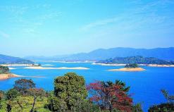 河源万绿湖船游(水月湾、镜花岭、龙凤岛)、万绿山水、野趣沟一天