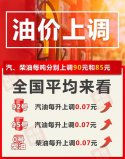 四川成品油价格调整了吗?四川最新成品油价格调整消息!